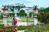 Family in summer garden (Salzburg, Austria)
