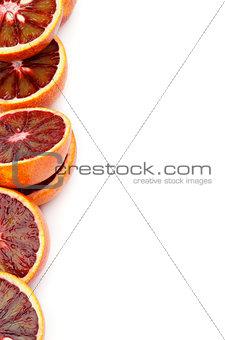 Frame of Blood Oranges