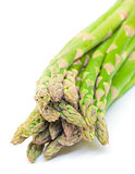 Fresh Green Asparagus Bunch