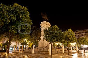 beautiful monument in Sevilla