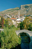 mostar in bosnia herzegovina