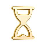golden hourglass symbol