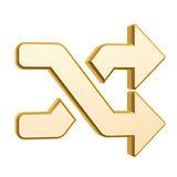 golden shuffle symbol