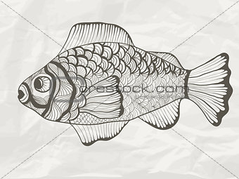 Vector Funky Fish