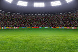 Soccer stadium
