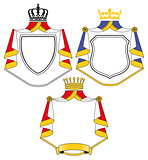 Crest with coat