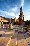 tower at Plaza de Espana, Sevilla