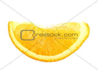 Part of fresh orange