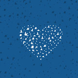 Heart a bird4