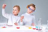 Keen chemists
