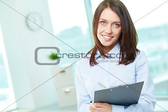 Portrait of intern