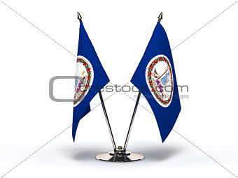 Miniature Flag of Virginia