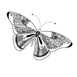 graphic butterfly