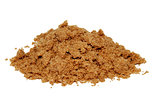 Pile of light brown soft sugar