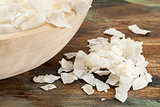 shredded coconut flakes