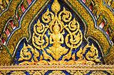 temple in grand palace bangkok thailand