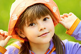 pretty girl in a hat