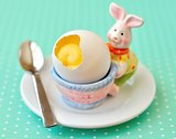 Orange Custard in Egg Shell