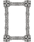 Celtic decorative knot frame