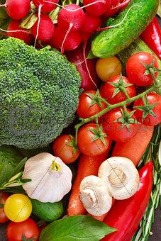 Vegetables.