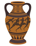 Greek vase