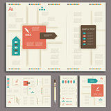 Corporate identity template.