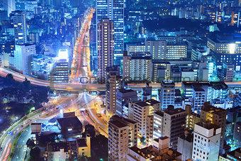 City Scene in Tokyo