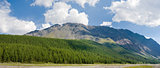 Panorama Altai mountains, Russia