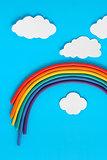 Plasticine Rainbow