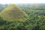 chocolate hills bohol island philippines