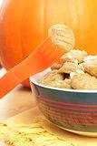 pumpkin gnocchi for children