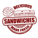 Sandwiches stamp
