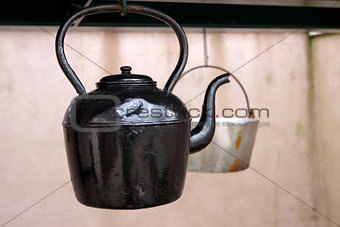 Cast iron kettle