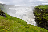 Iceland - Golden Circle - Gullfoss - Golden Falls