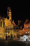 Brugge in night