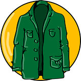 Green jacket