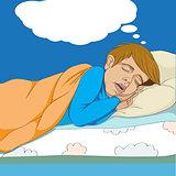 kid dreaming