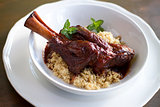 Braised Lamb Shank