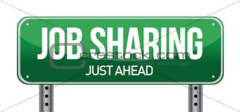 job sharing sign