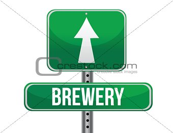 brewery road sign