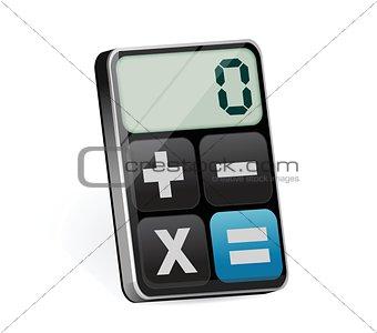 clean modern calculator