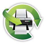 printer cycle graphic
