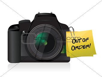 camera out of order post