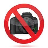 camera do not use sign