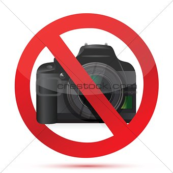 camera do not use sign