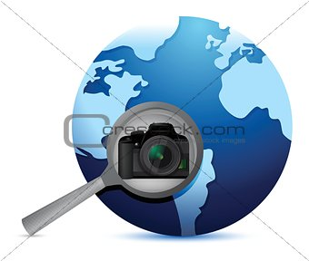 camera global search selection