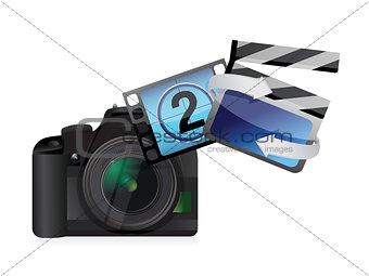 camera movies concept