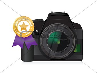 camera quality gold ribbon
