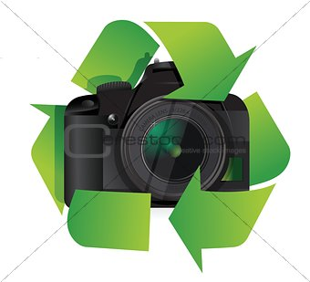 camera recycle concept