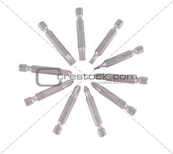 a set of screwdrivers